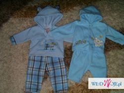 ubranka dla chłopca 0-3 miesiące zimowe 22 szt