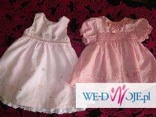 ubranka dla dziewczynki 0-12mcy