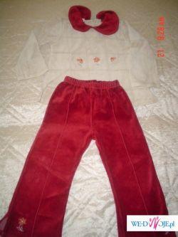 ubranka dla dziewczynki 4 lata