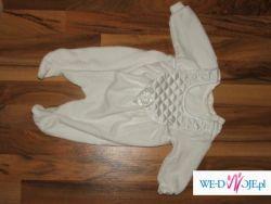 Ubranko do chrztu dla chłopca roz.56 c&a