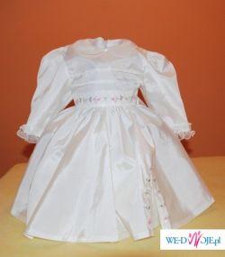 3f4411f159 Ubranko do chrztu dla dziewczynki  sukienka