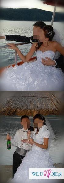 unikalna suknia ślubna