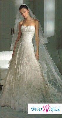 Unikalna suknia ślubna - elegancka i delikatna - Pronovias model Hindu