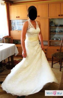 Unikalna Suknia Ślubna Koronkowa ANNAIS BRIDAL
