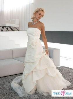 Unikalna suknia ślubna LINEA RAFFAELLI 2007