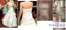 Unikalna suknia ślubna. Tanio! Okazja!