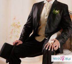 Unikalny garnitur ślubny