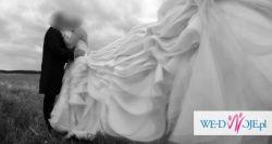 Unikatowa i elegancka suknia ślubną własnego projektu insp. Verą Wang
