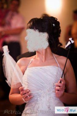 Unikatowa suknia ślubna - rozmiar 36/40 :)