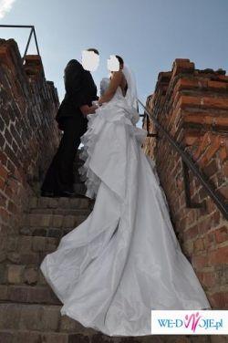 Unikatowa suknia ślubna własnego projektu!