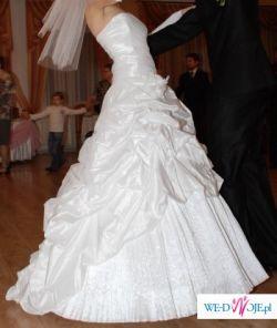 Urocza suknia ślubna firmy MSModa z Kielc