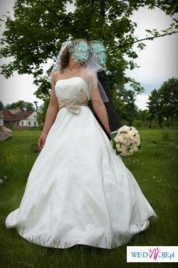 Urocza Suknia ślubna Justin Alexander 8388