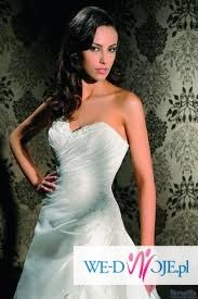 Urocza suknia ślubna Lisy Ferrery