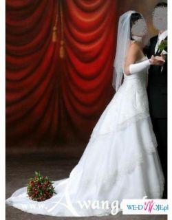 UWAGA UWAGA!!! Suknia ślubna jak z bajki :)
