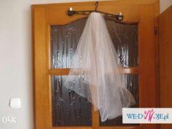 Welon ślubny kryształki swarovskiego