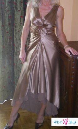 Wizytowa suknia