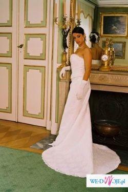 Włoska elegancja koronkowe lśnienie