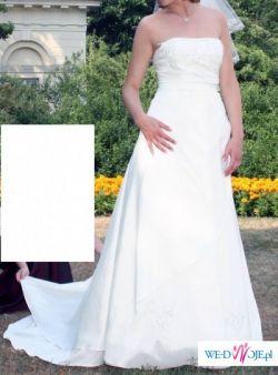 """Włoska suknia ślubna """"Andora""""   - rozmiar 38/40"""