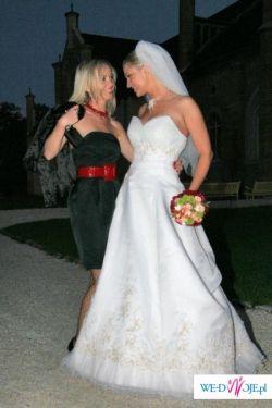 Włoska suknia slubna Eddiego K.