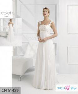Włoska suknia ślubna firmy Linea - Colet