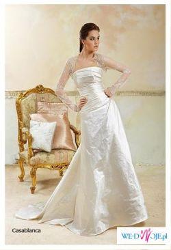 Włoska suknia ślubna Maggio Ramatti, Casablanca  r. 36/38