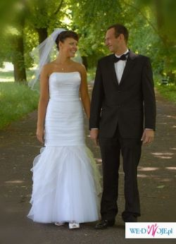 Włoska suknia ślubna VENUS rozmiar38/40