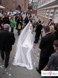 Włoska suknia ślubna z kolekcji Perle 2008-OKAZJA