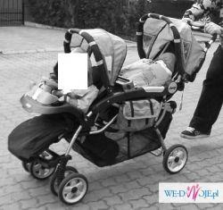 wózek dla dwojga