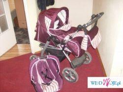 Wózek dziecięcy EXPLORER z fotelikiem samochodowym