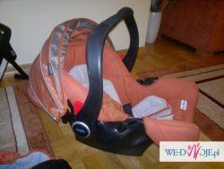 Wózek + Fotelik + baza + nosidełko + parasolka GRACO Quattro Tour Deluxe