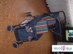 wózek spacerowy bliźniak