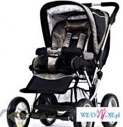 wózek wielofunkcyjny Emmaljunga w idealnym stanie