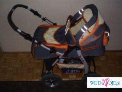 Wózek Wielofunkcyjny+fotelik samochodowy+nosidełko