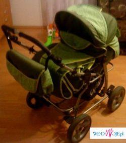 wózek wielofunkcyjny +nosidło+torba IDEALNY STAN