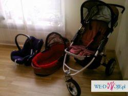 Wózek wielofunkcyjny Quinny +fotelik Maxi Cosi Cabrio0-13kg
