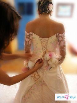 Wspaniała Suknia PAPILIO model FLAMINGO
