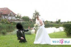 Wyjakowa suknia ślubna w dużym rozmiarze