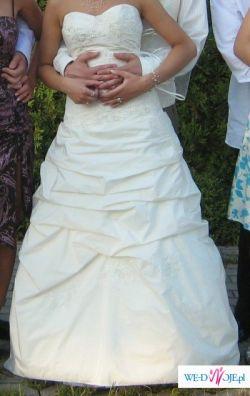 ..wyjątkowa elegancja..w sukni na wyjątkowy ślub!!