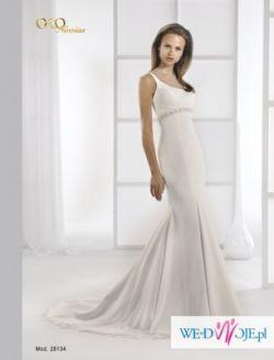 Wyjątkowa hiszpańska suknia ślubna