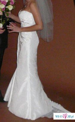 Wyjątkowa hiszpańska suknia ślubna rozm. 38, okazja!!!!!