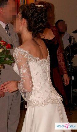 Wyjątkowa i niebanalna suknia ślubna