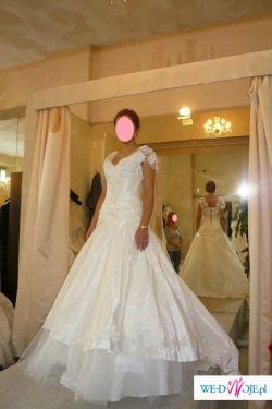 """Wyjątkowa i prześliczna suknia ślubna """"Chanson des Fleurs"""" (kolekcja 2009/2010)"""