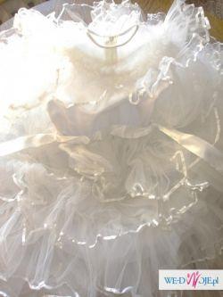 Wyjątkowa sukienka komunijna z dodatkami