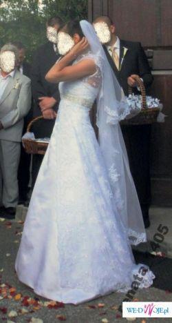 Wyjątkowa suknia Annais Bridal z kolekcji 2009+dodatki