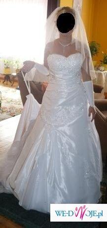 Wyjątkowa Suknia  firmy Sincerity 3315 model 2008