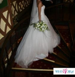 Wyjątkowa suknia JUSTIN ALEXANDER model 8129