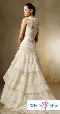Wyjątkowa suknia Lasarte Pronovias 2007