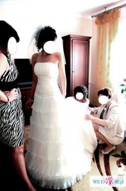 Wyjątkowa suknia ślubna !