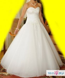 !!! Wyjątkowa Suknia Ślubna !!!