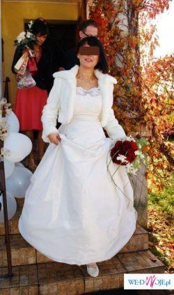 Wyjątkowa suknia ślubna!!